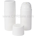 Airless Bottles - White Caps