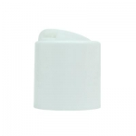Cap, 24/410, Disc Cap, White - CASE
