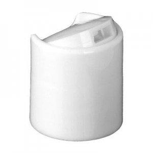 Cap, 20/410, Disc Cap, White