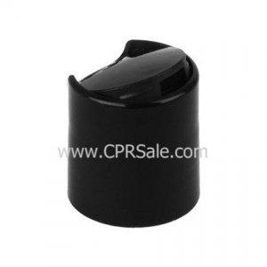 Cap, 20/410, Disc Cap, Black