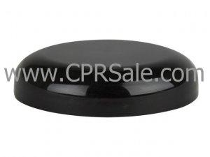 Cap, 53/400, Black, Domed, Unlined