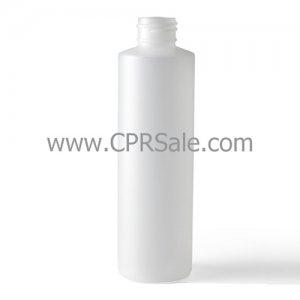 Plastic Bottle, HDPE, Cylinder, Natural, 6oz, 24/410