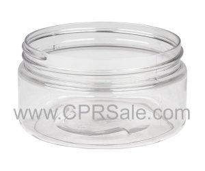 Jar, PET, Round, Clear, 89mm, 8oz