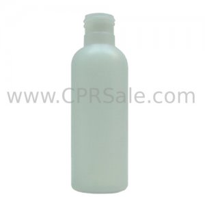 Plastic Bottle, HDPE, Imperial Round, Natural, 3oz, 24/410