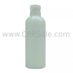 Plastic Bottle, HDPE, Round, Natural, 4oz, 24/410 - CASE