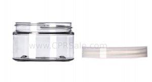 Jar, PET, Round, Clear, 72mm, 3.4oz