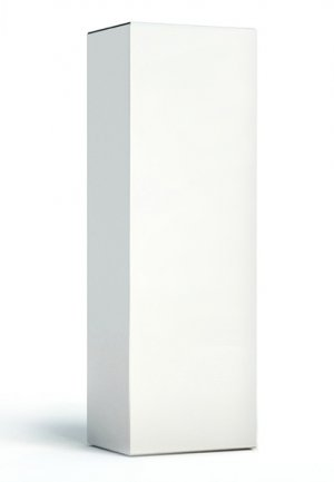 White Cartons for 50ml Airless Bottles with Press Down Caps (Pack of 10)