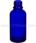 Tincture Bottle, 15ml (0.5oz.) Blue Glass, 18-400