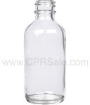 Tincture Bottle, 60ml (2oz.) Clear Glass, 20-400