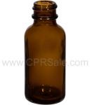 Tincture Bottle, 30ml (1oz.) Amber Glass , 20-400
