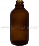Tincture Bottle, 120ml (4oz.) Amber Glass , 22-400