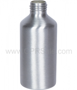 Aluminum Bottle, Boston Round, 6oz