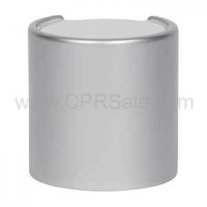 Cap, 20/410, Disc Cap, Silver Over-cap
