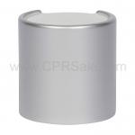Cap, 24/410, Disc Cap, Silver Over-cap