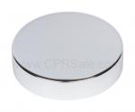Cap, 58/400, Aluminum Cap, Shiny Silver