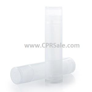 Lip Balm Tube, Natural Cap, Natural Body, 0.15 mL